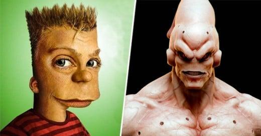 La mayoría de estos personajes marcaron nuestra infancia y hasta fueron los personajes favoritos de muchos niños y adolescentes de los 80's y 90's. ¿Pero te has imaginado cómo se verían nuestros personajes si fueran reales, con un poco más de realismo en sus facciones y simetría?