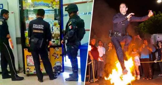 Policias divertidos el lado divertido de la ley
