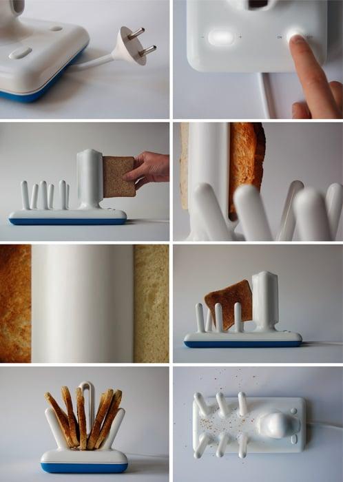 tostadora de cerámica