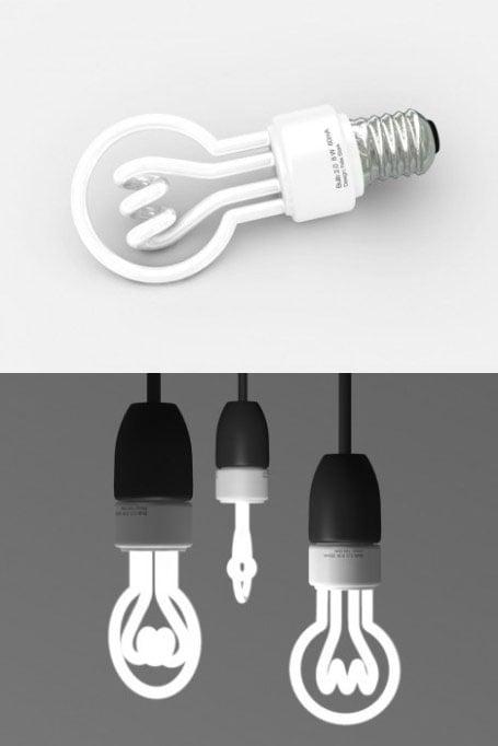 Diseños en bombillas de bajo consumo