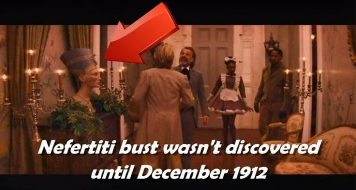 Escena de una película Django Unchained