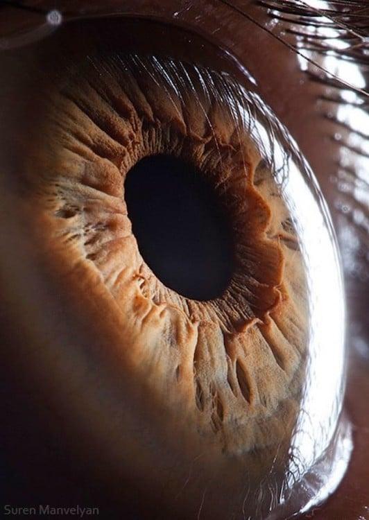 foto a detalle de un ojo