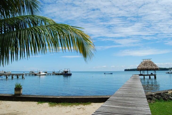 Playa blanca livingstone, guatemala