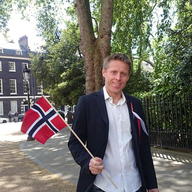 Gunnar Garfors en Londres
