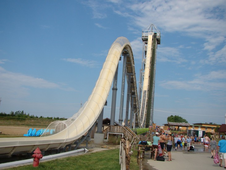 Tobogán Verruckt, Schlitterbahn Waterpark (Kansas)