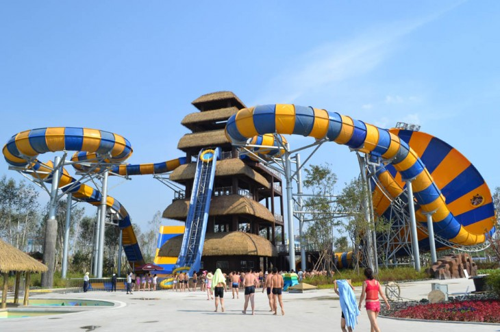 Tobogán Water Park Bali, China