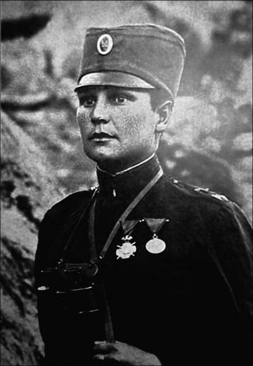 Milunka Savic es una heroína guerrera de Serbia