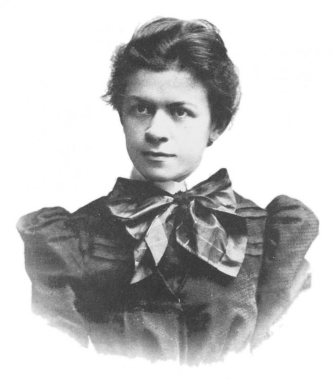 Mileva Maric matemática Serbia y fue la primera esposa de Albert Einstein.