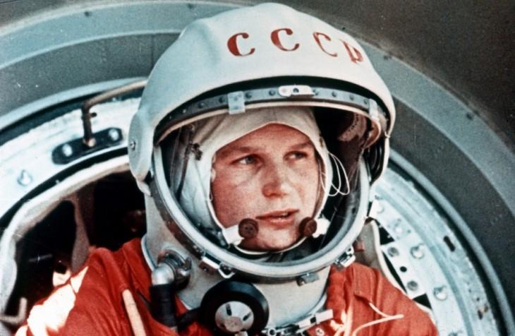 Valentina Tereshkova fue la primer mujer en el espacio en 1963