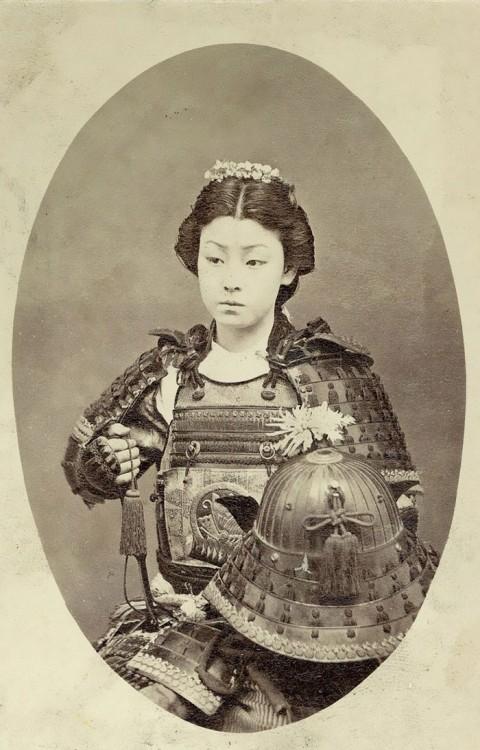 Una de las Onna Bugeisha es considerada la Mujer Samurai en Japón.