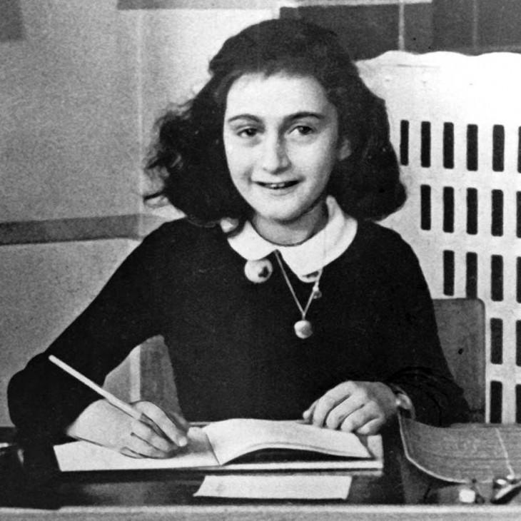 Anne Frank es una niña mundialmente conocida por el Diario de Ana Frank