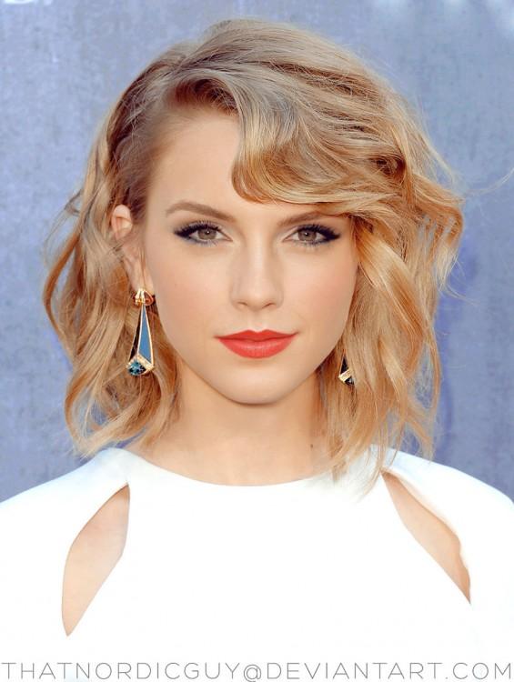 cara de la combinación de Taylor Swift y Emma Watson
