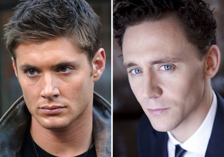 Jensen Ackles y Tom Hiddleston