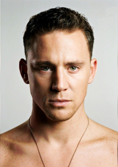 Cara de la combinación de Tom Hiddleston y Channing Tatum