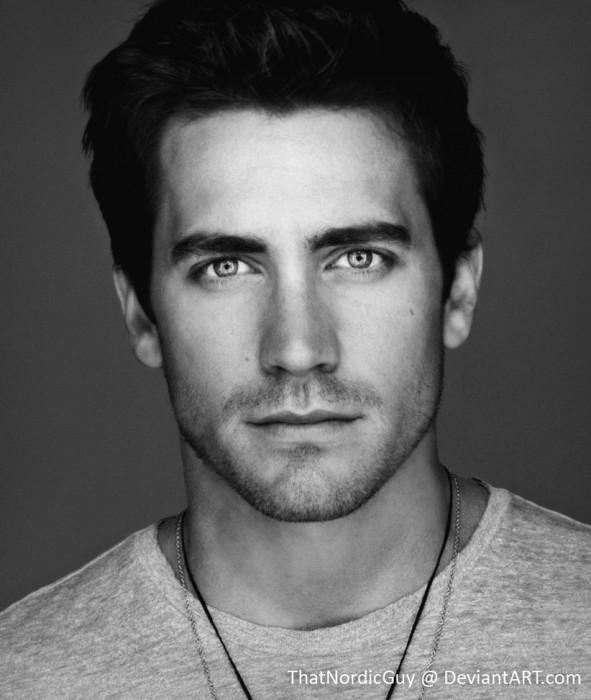 Combinación de las caras de Matt Bomer y Jake Gyllenhaal