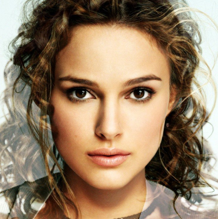 Misturando as faces de Natalie Portman e Keira Knightley