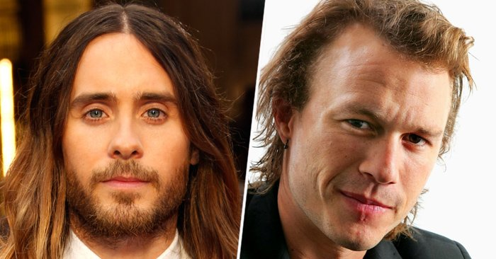 Jared Leto y Heath Ledger