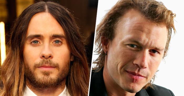 Jared Leto y Heath Ledger