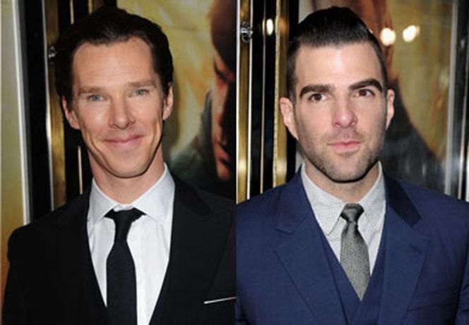 Benedict Cumberbatch y Zachary Quinto