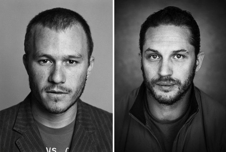 Tom Hardy y Heath Ledger