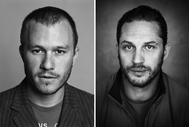 Tom Hardy y Heath Ledger
