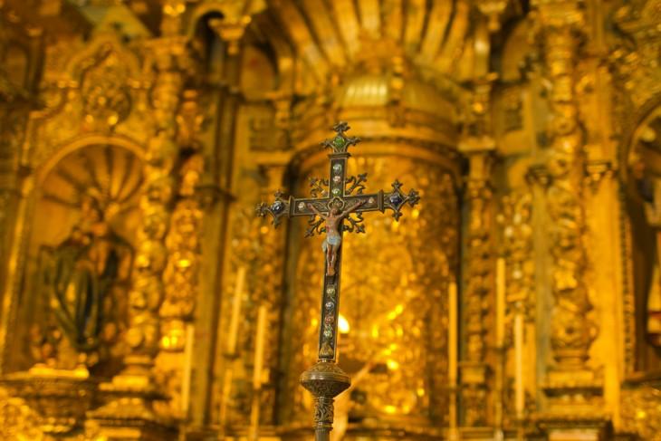 ALTAR DE ORO A SAN JOSE EN PANAMA