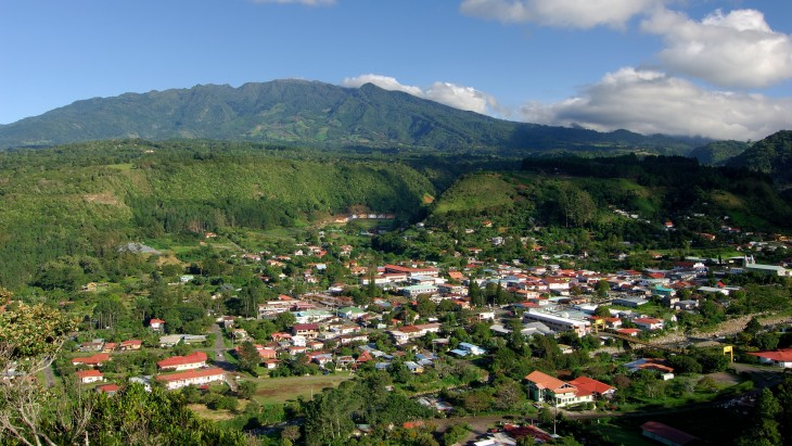 pueblo montañoso de Boquete