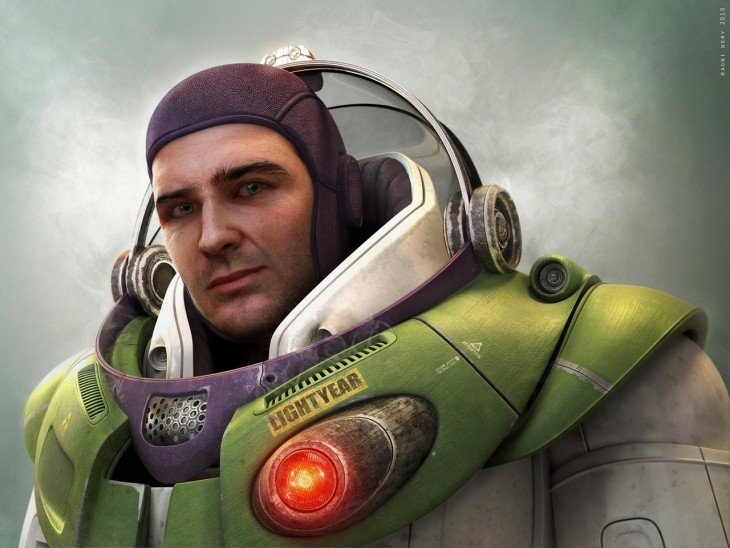 Buzz Lightyear en la vida real