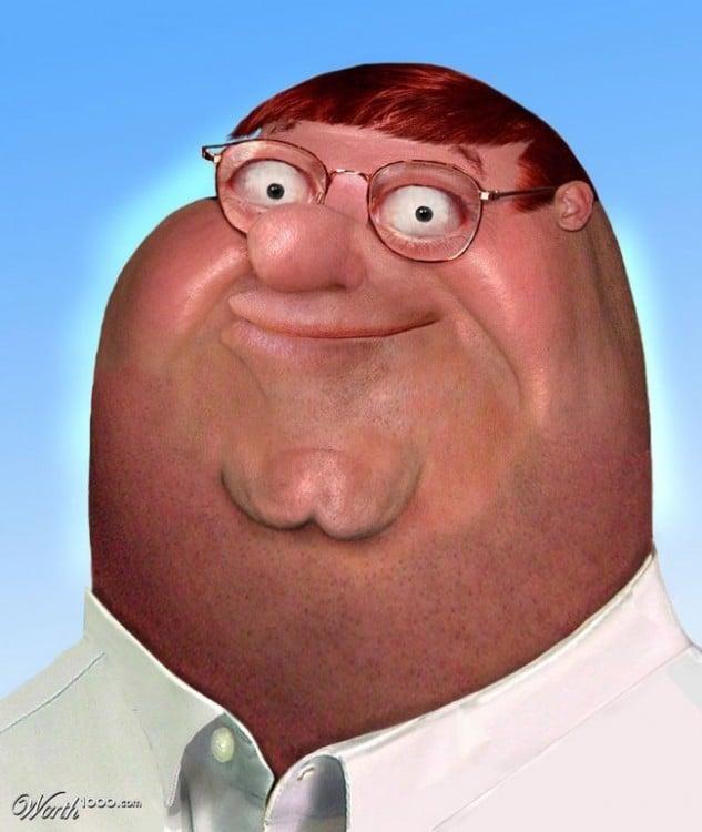 Peter griffin en padre de familia