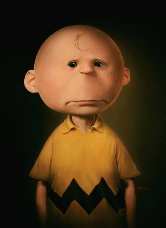 charlie brown en la vida real