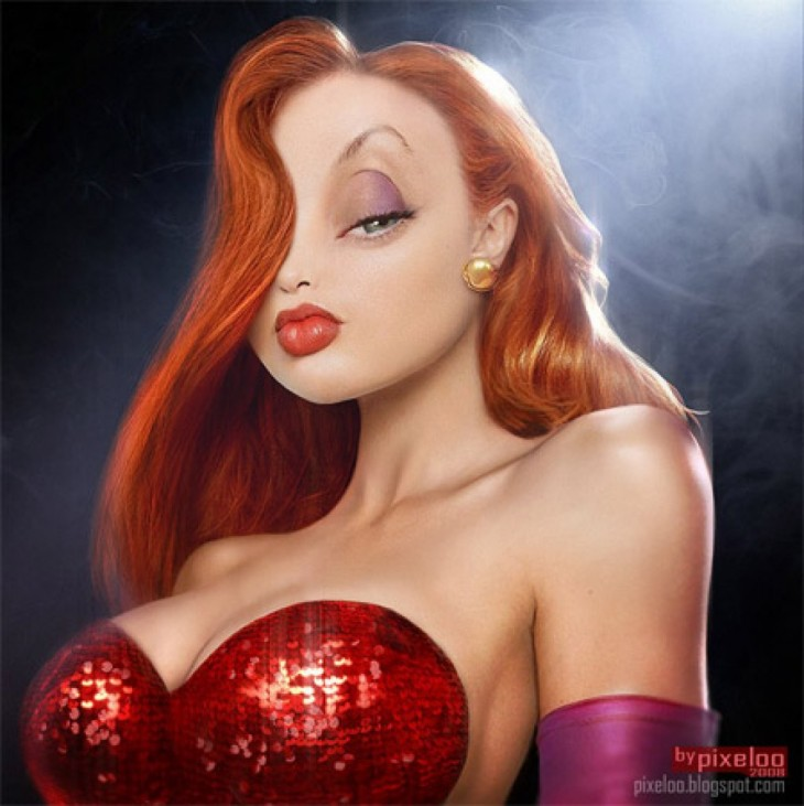 Jessica Rabbit en la Vida real