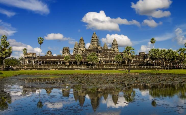 ruinas de Angkor Wat, Camboya