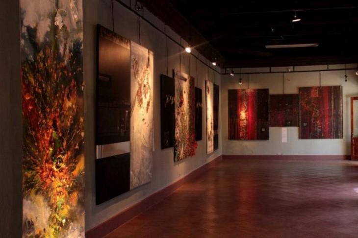 Interior del museo del hombre hondureño