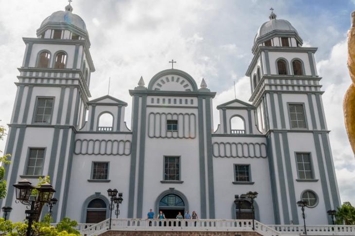 Basílica de la Virgen de Suyapa en Tegucigalpa, Honduras