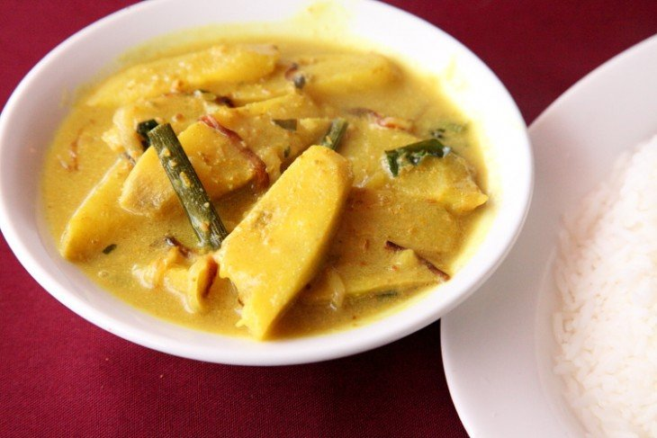 Banana Curry en Jamaica