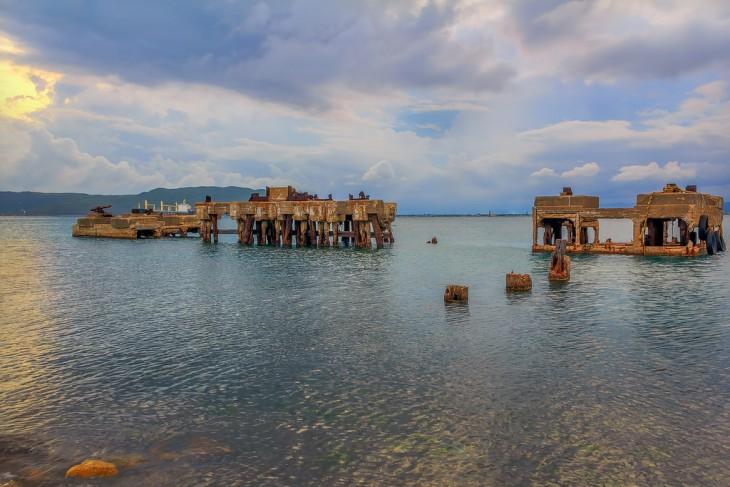 La ciudad bajo el agua de Port Royal en Jamaica