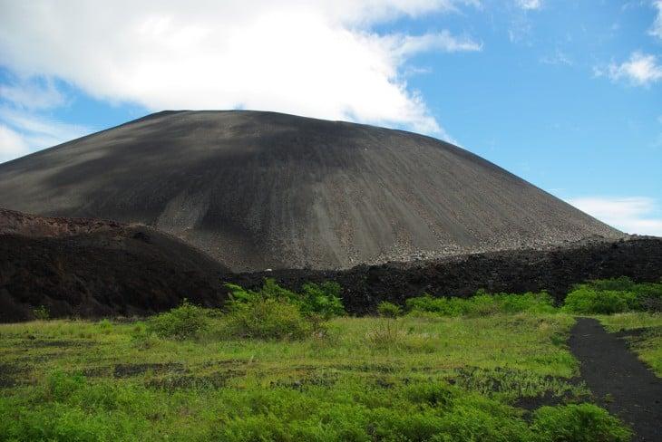 Volcán Cerro Negro en León, Nicaragua