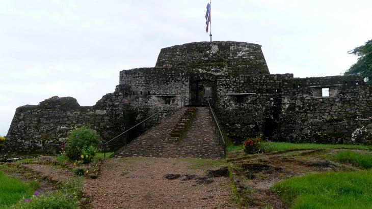 Castillo de la Inmaculada Concepción en Nicaragua