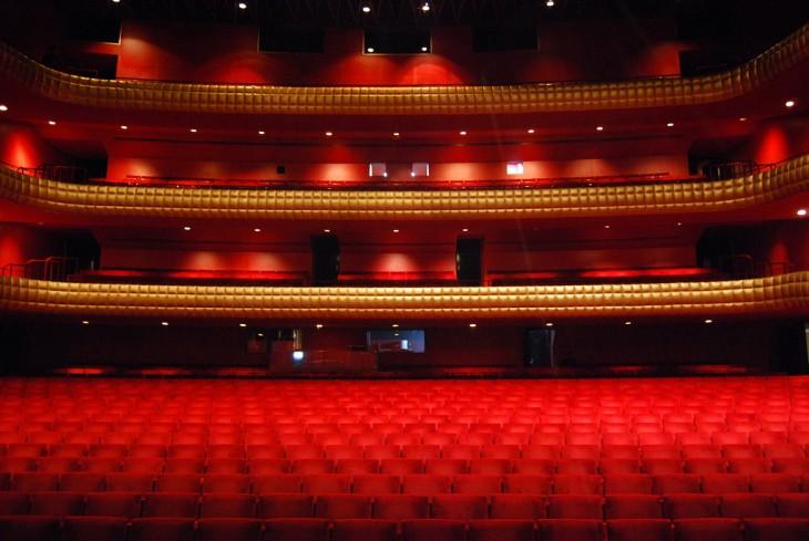 Interior del Teatro Nacional Rubén Darío