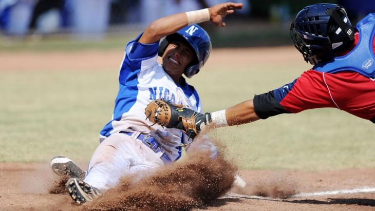 Final de Beisbol Juegos Centroamericanos San Jose 2013 entre Panama y Nicaragua.
