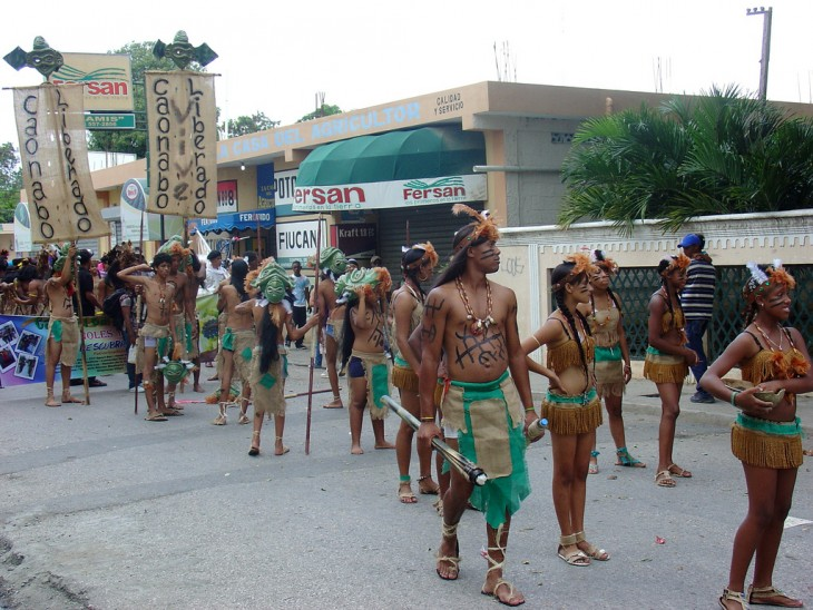 El desfile cuevas de los indios en República Dominicana