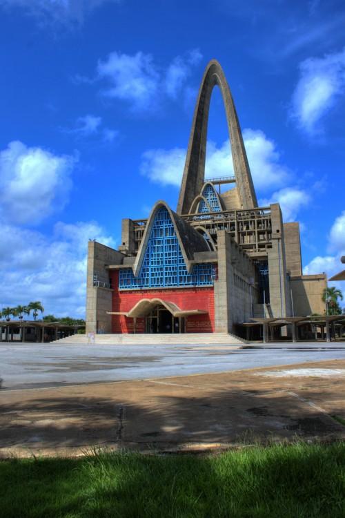 Basílica de Higüey en la República Dominicana