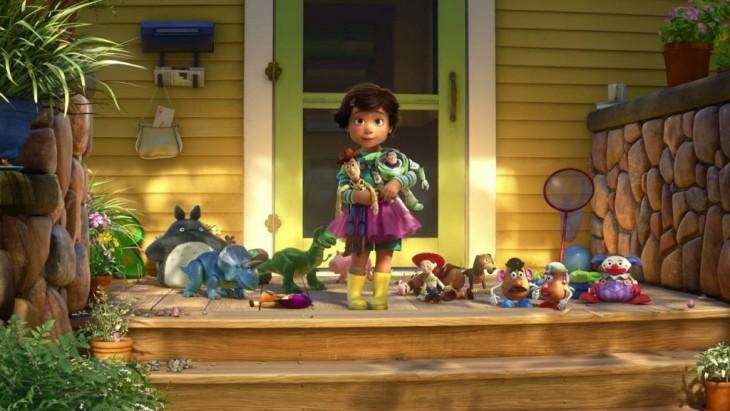 Escena final de la película Toy Story 3