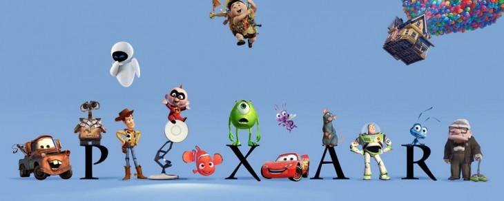 Personajes de algunas películas de Pixar