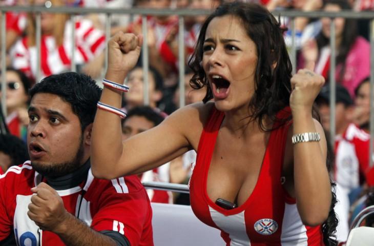 larissa riquelme paraguaya conocida como la novia del mundial 2010