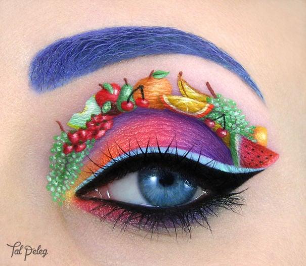 ojo vestido de frutero de la temporada
