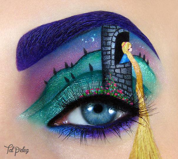 Rapunzel no olho