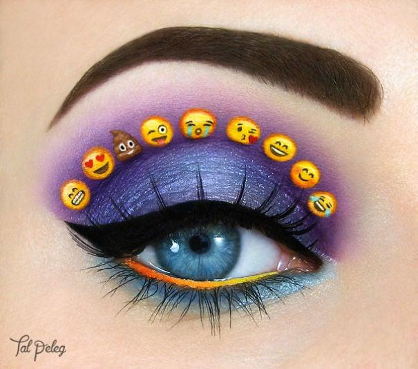ojo con emojis