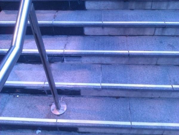 Fotografía de unas escaleras