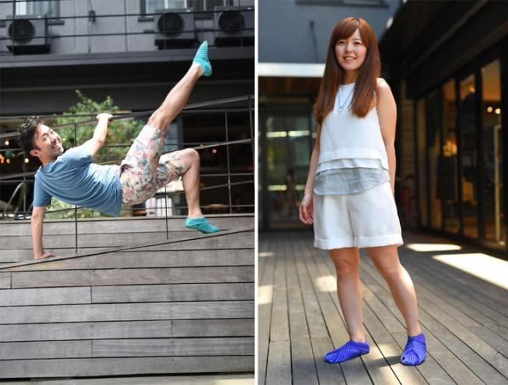 zapatos estilo furoshiki hombre y mujer